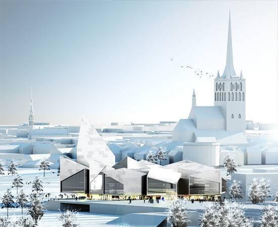 Big Architects New Town Hall Tallinn Estonia