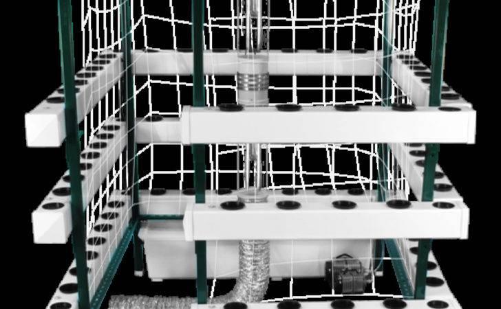 Big Buddha Box Vertical Hps Hydroponic Grow System Shipping