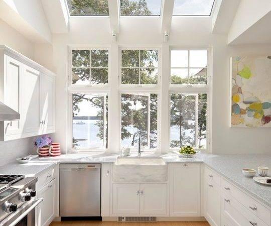 Big Glorious Skylight Kitchen Kitchens Pinterest