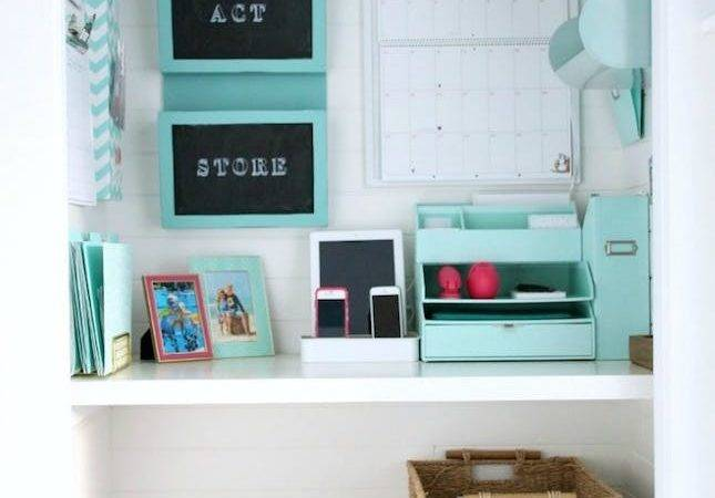 Big Ideas Small Space Home Offices Brit