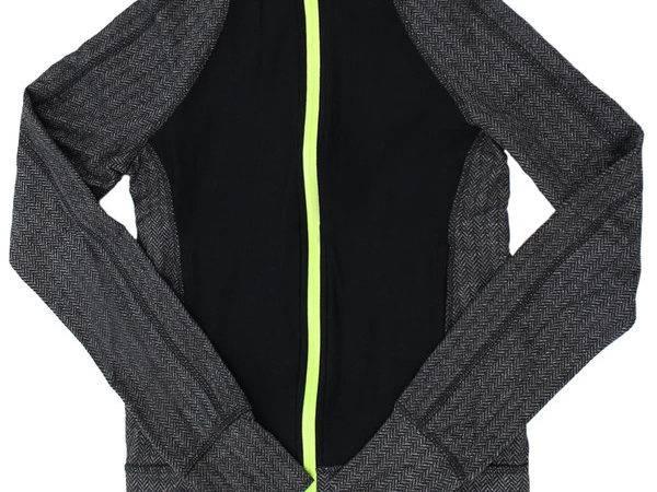 Big Kids Herringbone Zip Jacket Degree Reflex Only