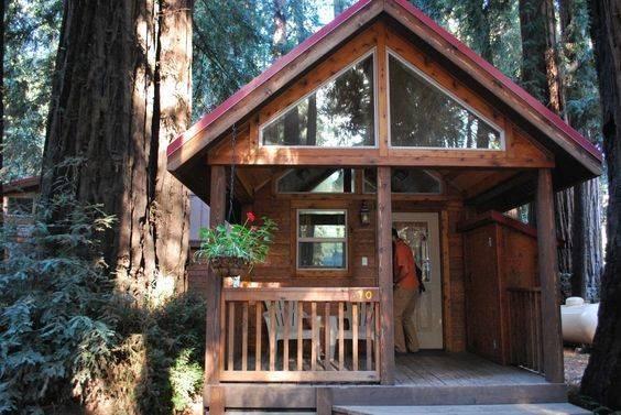 Big Sur Cabin Camping Adventure Pinterest