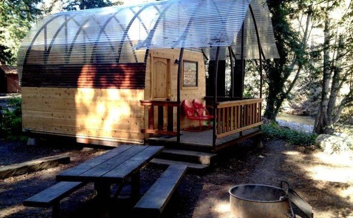 Big Sur Camping Cabin Outdoors Pinterest