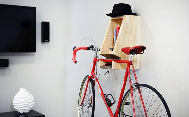 Bika Bike Rack Modern Made Canadian Pine