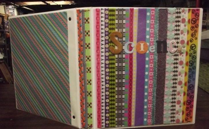 Binder Decoration Crafts Pinterest