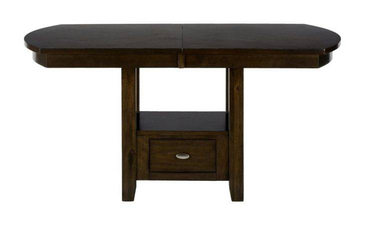 Birch Standard Counter Height Storage Dining Table Atg Stores