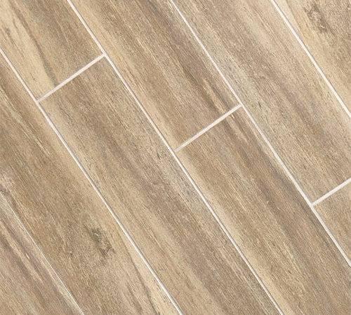 Birch Wood Plank Porcelain Wall Floor Tile
