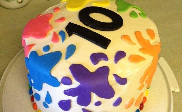 Birthday Party Invitations Ceramic Pottery Art Favors