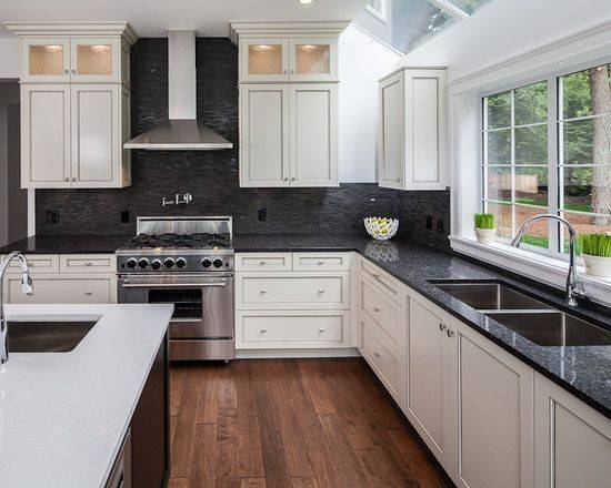 Black Countertops Deaft West Arch