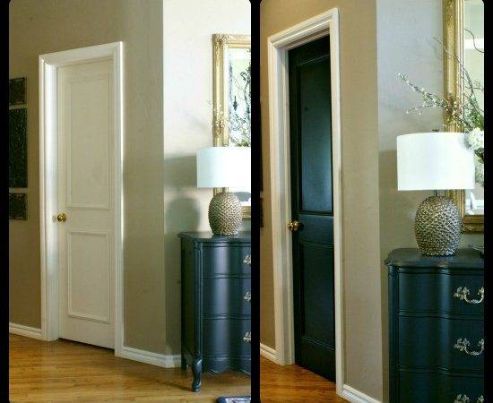 Black Door House Interior Doors