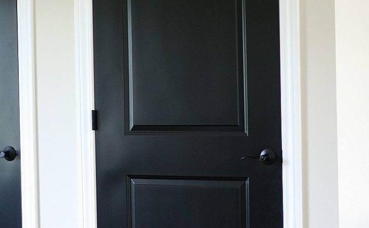 Black Interior Doors Home Building Tip