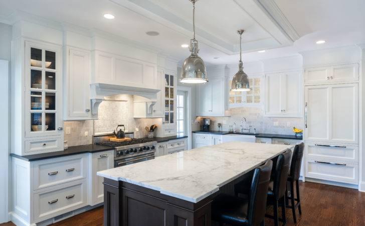 Black Marble Kitchen Countertops Cabinets White Countertop