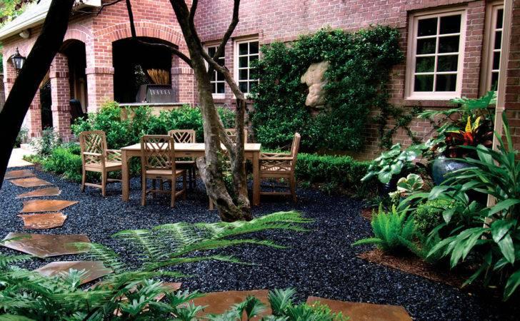 Black Pea Gravel Landscape Traditional Blackstar Brick