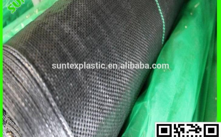 Black Polyethylene Weed Prevention Cloth Grass Control