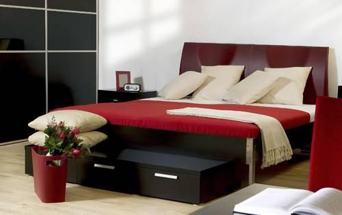 Black Red Bedroom Design Ideas Modern Diy Art Designs