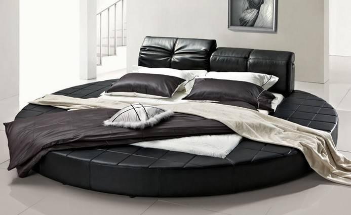 Black Round Bed Set Furniture Buy Big Design Latest