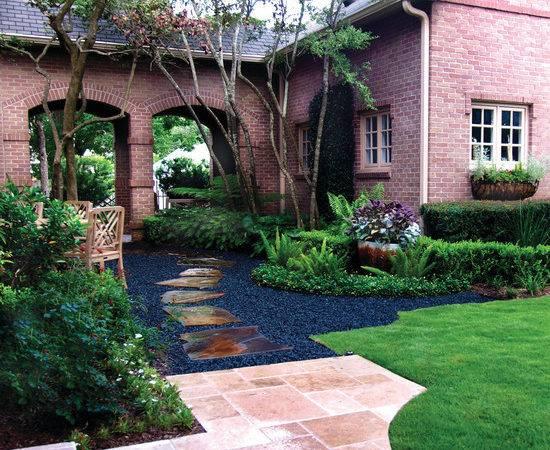 Black Star Gravel Home Design Ideas Remodel Decor