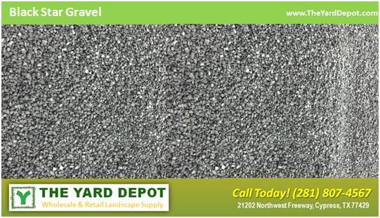 Black Star Gravel Yard Depot Houston Landscape Wholesale