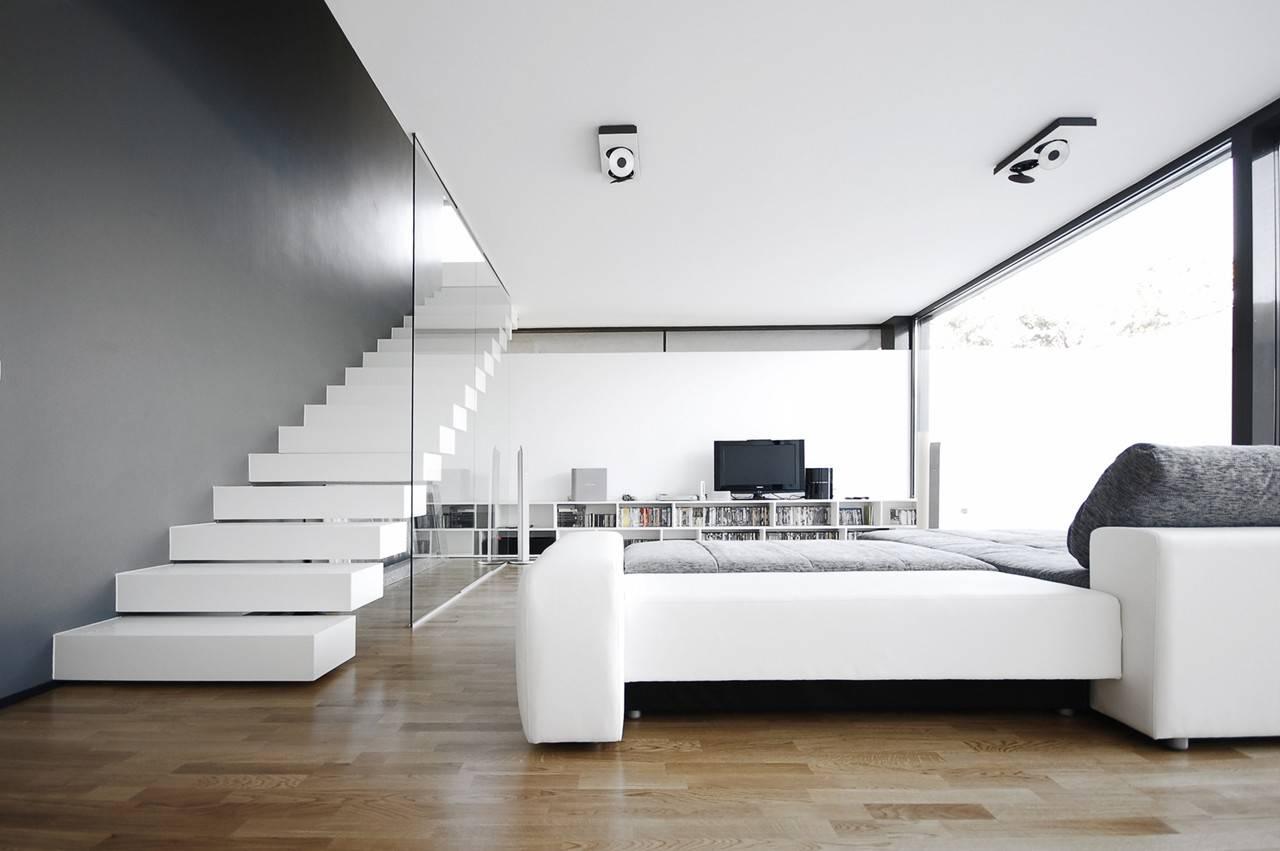 Black White Designed Parasite Studio Architecture Office