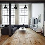 Black White Loft Living