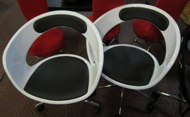 Black White Moon Chairs