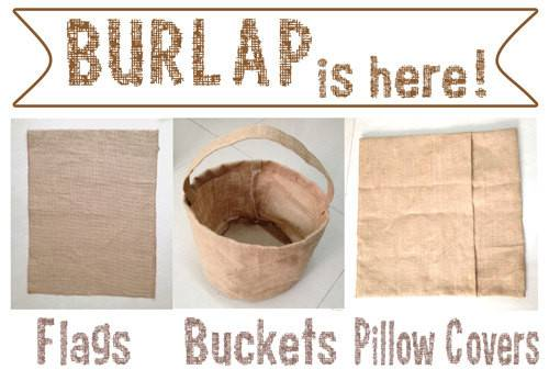 Blank Burlap Pillow Cover Diy Htv Embroidery