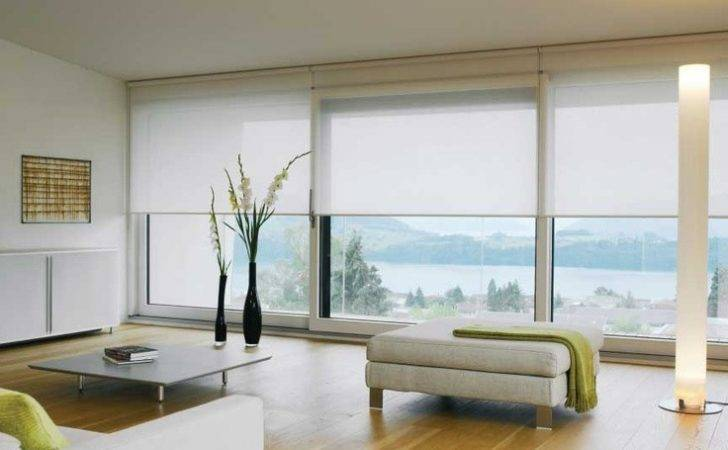 Blinds Livingroom Curtains Pinterest Roller