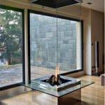 Bloch Design Glass Fireplace
