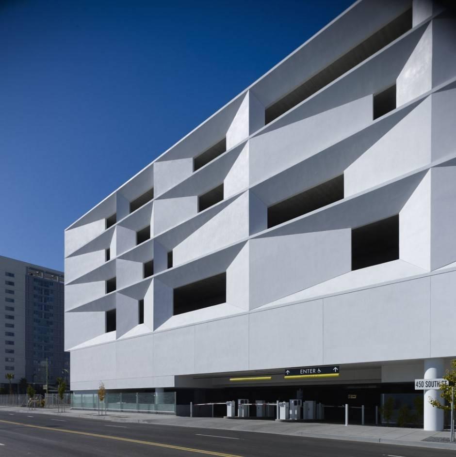 Block Parking Structure Design Wrns Studio House