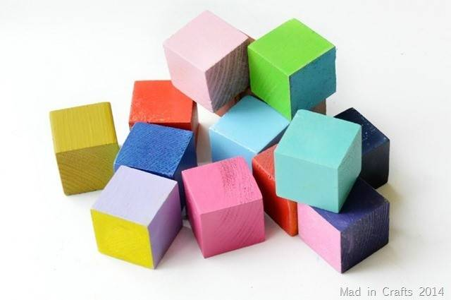 Blocks Colorful Happy Can