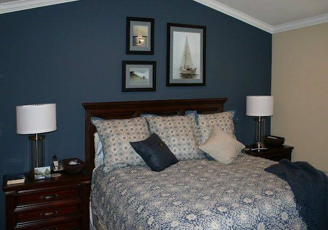 Blue Accent Wall Decor Ideas Pinterest Bedrooms Master
