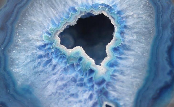 Blue Agate Geode Geaausten Deviantart
