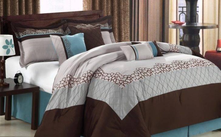 Blue Brown Bed Sets