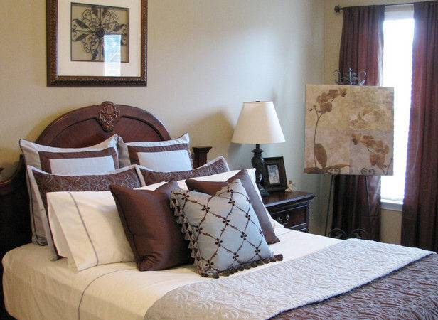 Blue Brown Bedroom Decorating Ideas Davotanko Home Interior