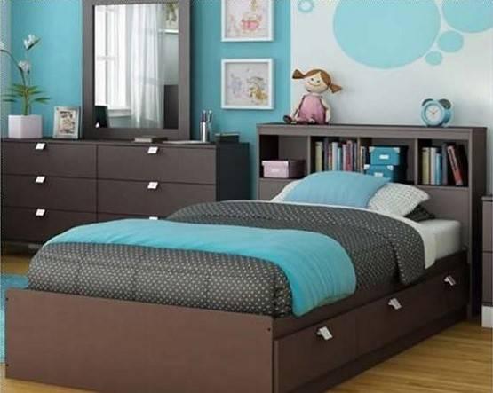 Blue Brown Bedroom Decorating Ideas
