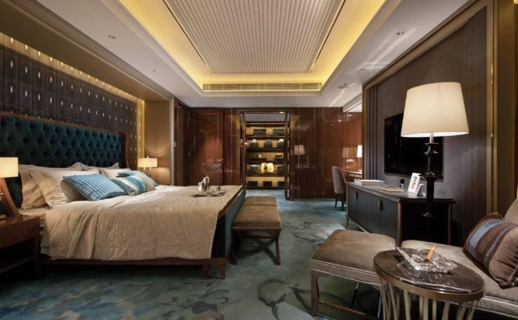 Blue Brown Bedroom Panorama Jpeg Luxuriousness Pinterest