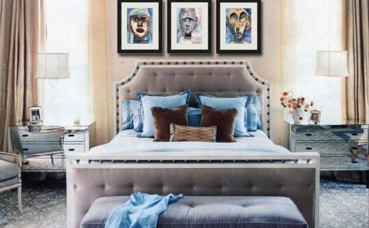 Blue Brown Bedroom Pretty Minus Frames