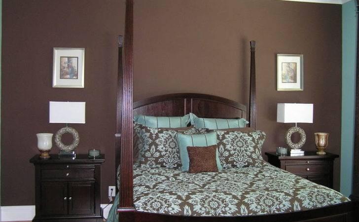 Blue Brown Bedrooms Dark Bedroom Master
