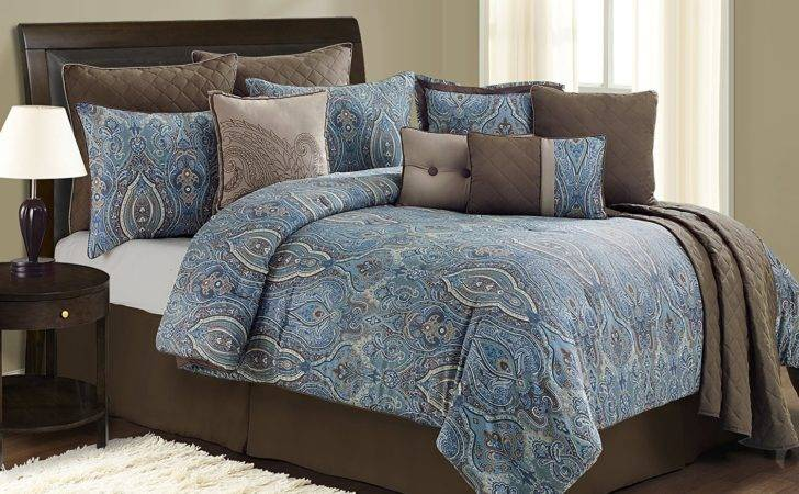 Blue Brown Comforter Related Keywords Suggestions