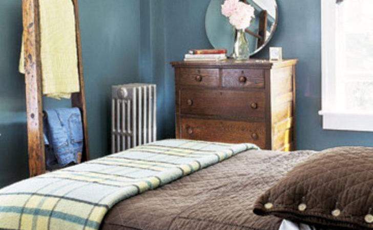 Blue Brown Living Room Decor