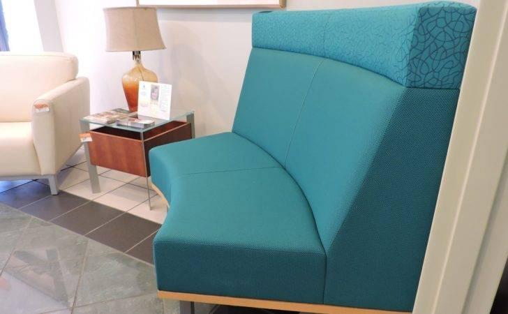 Blue Chair Bench Richmond Office Interiors