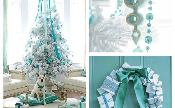 Blue Christmas Color Scheme Chip Setting Four