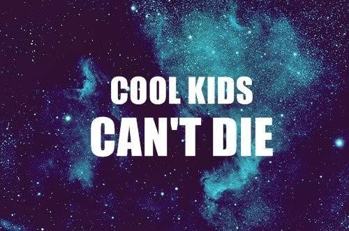 Blue Cool Kids Die Favim