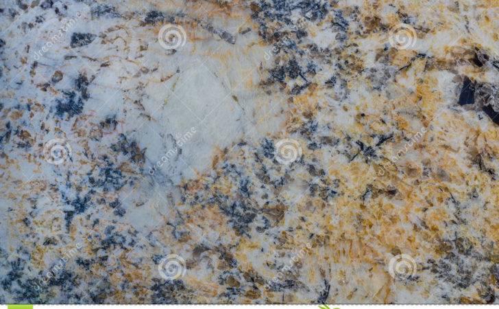 Blue Gold White Granite Photos