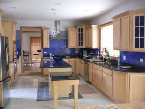 Blue Kitchen Walls Gaining Its Popularity Goodness They