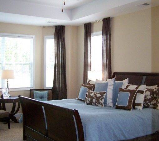 Blue Master Bedroom Ideas Your Home Brown