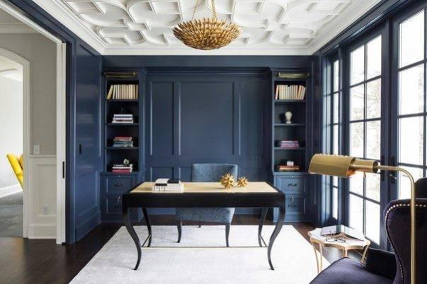 Blue Navy Interiors Luxury Interior Design Home Office