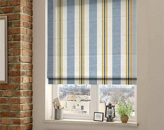 Blue Roman Blinds Pinterest Nautical