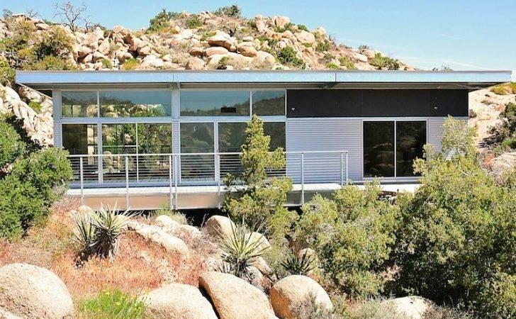 Blue Sky Homes Completes Steel Prefab Home Yucca Valley Inhabitat