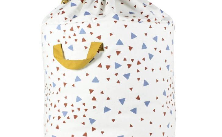 Blue Terracotta Large Baobab Toy Bag